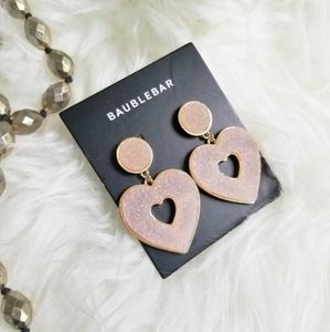Beautiful Baublebar Blush Color Earrings